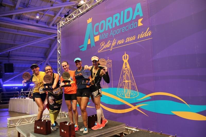 Ganhadores do percurso de 4km