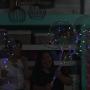 balão bolha de led