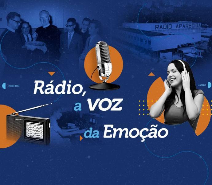 """""""Rádio, a Voz da Emoção"""" conta trajetória radiofônica no Brasil"""