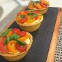 Tartelete de tomate cereja