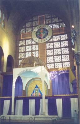 Retábulo do trono de Nossa Senhora