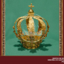 Coroa de ouro doada pela Princesa Isabel