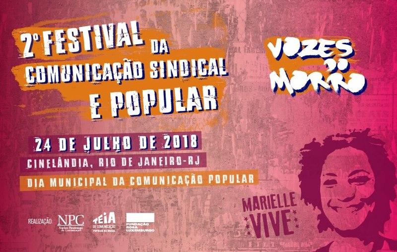 Resultado de imagem para festival de comunicaçao popular