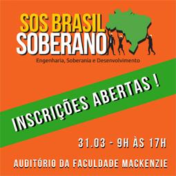 Inscreva-se para o I Simpósio SOS BRASIL SOBERANO