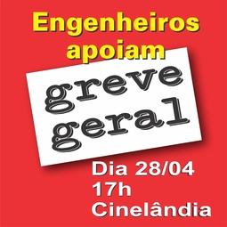 ENGENHEIROS APROVAM GREVE GERAL