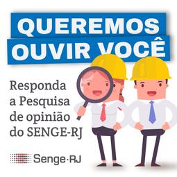 Pesquisa de Opinião dos profissionais do SENGE-RJ