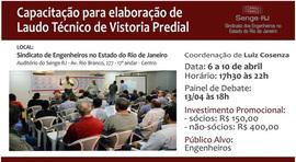 SENGE-RJ abre nova turma de Autovistoria