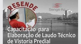 SENGE-RJ promove curso de Autovistoria em Resende