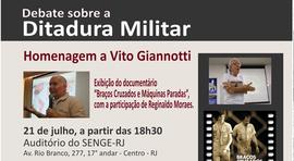 SENGE-RJ convida para debate sobre a ditadura