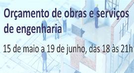 Capacitação ORÇAMENTO DE OBRAS E SERVIÇOS DE ENGENHARIA