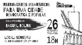 DEBATE Instrumentos Urbanísticos para uma Cidade Democrática e Popular