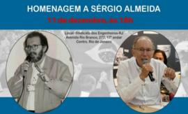 SENGE-RJ realiza homenagem a Sérgio Almeida