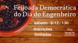 Feijoada Democrática do Dia do Engenheiro