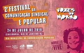 Últimos dias para contribuir para o 2º Festival da Comunicação Sindical e Popular
