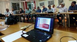 Reunião da nova diretoria do Senge-RJ empossa representantes sindicais