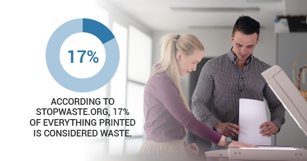 prevent unnecessary printing expenditures