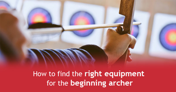 equipment for archery training