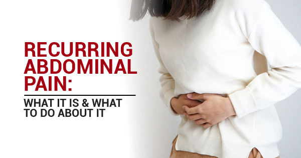 what to do about abdominal pain