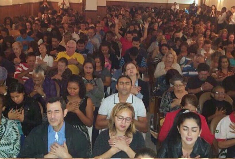 Reunião realizada em Universal no Flamengo