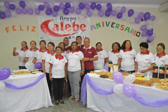 Grupo Calebe completa 4 anos de existência