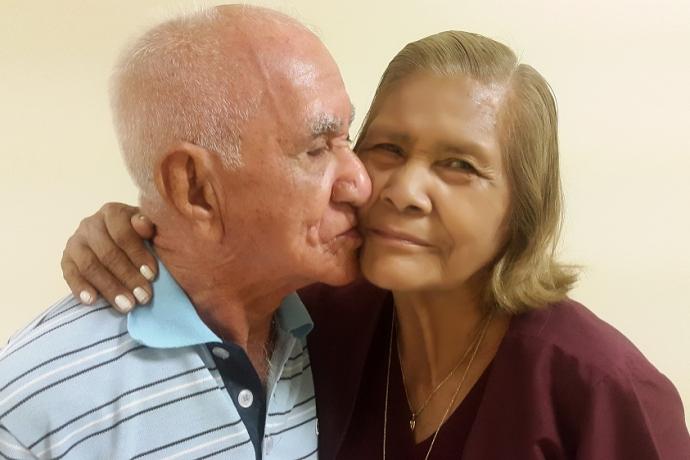 Não existe idade para o amor