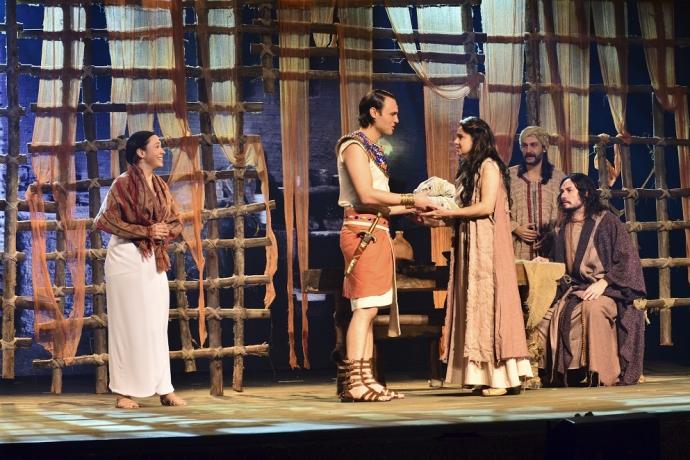 Você já foi assistir ao espetáculo Os Dez Mandamentos – O Musical?