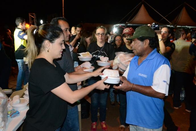 Universal do Mato Grosso do Sul ajuda vítimas de tempestade