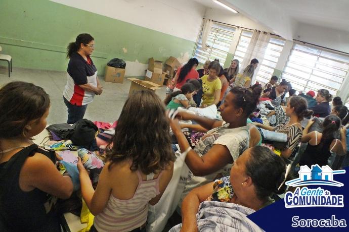 A Gente da Comunidade de Sorocaba visita Nova Esperança
