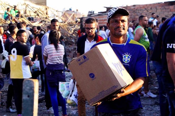 FJU auxilia comunidade na zona norte paulista após incêndio