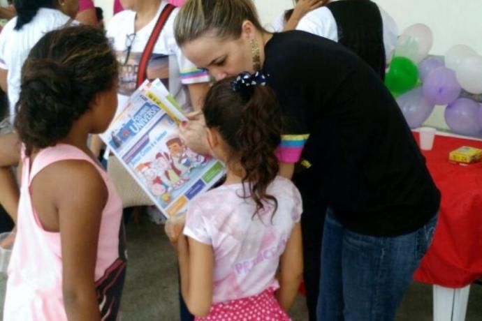 Universal promove ação com familiares de presas em Sergipe