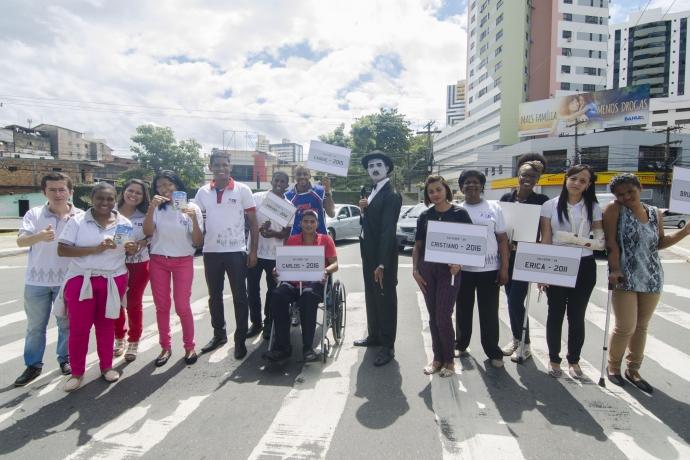 Força Jovem promove conscientização no trânsito da Bahia