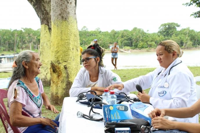 Ação de cidadania do FJU chega a área isolada do Pará