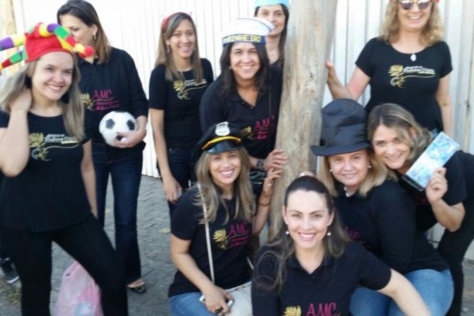 AMC visita casa de apoio à criança com câncer em São Paulo