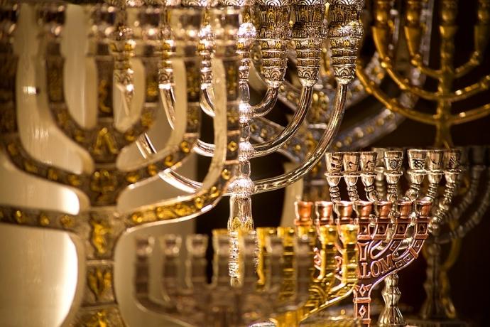 As sete chamas do Templo de Salomão