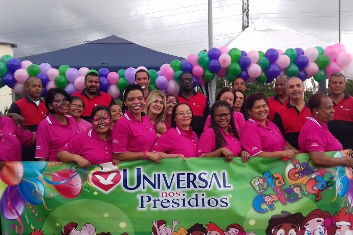 Universal realiza ações para filhos de detentos no mês das crianças