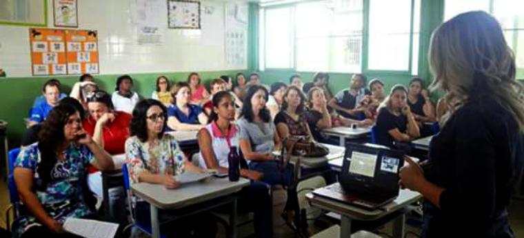 Educadores participam de encontro de formação - Crédito: Arquivo Pessoal