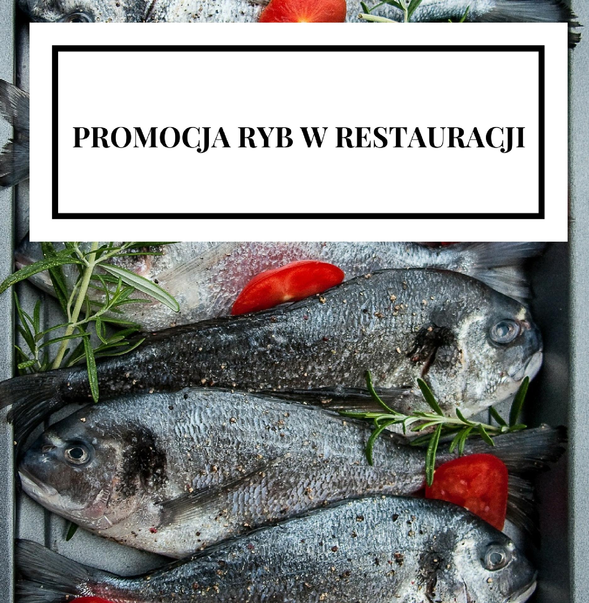 Promocja ryb w restauracji