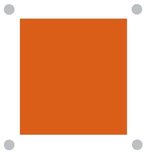 Akryl d orange