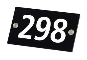 Husnummerskilt stord p9047 600