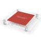 Akryl modell c 160x170 rood