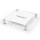 Akryl modell c 160x170 hvit