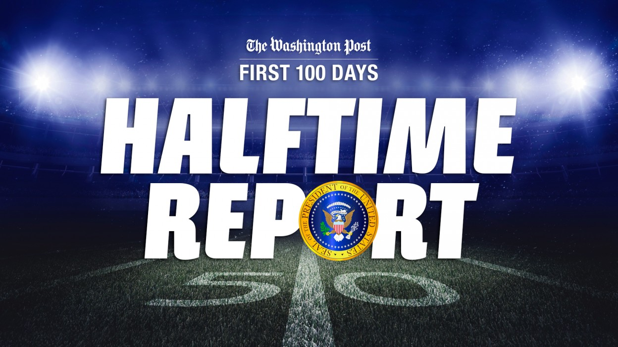 Trump's first 100 days: Halftime report