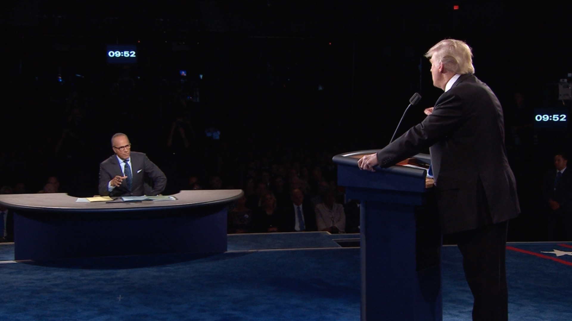 Trump vs. Clinton: Her jabs put him on the defensive in first debate