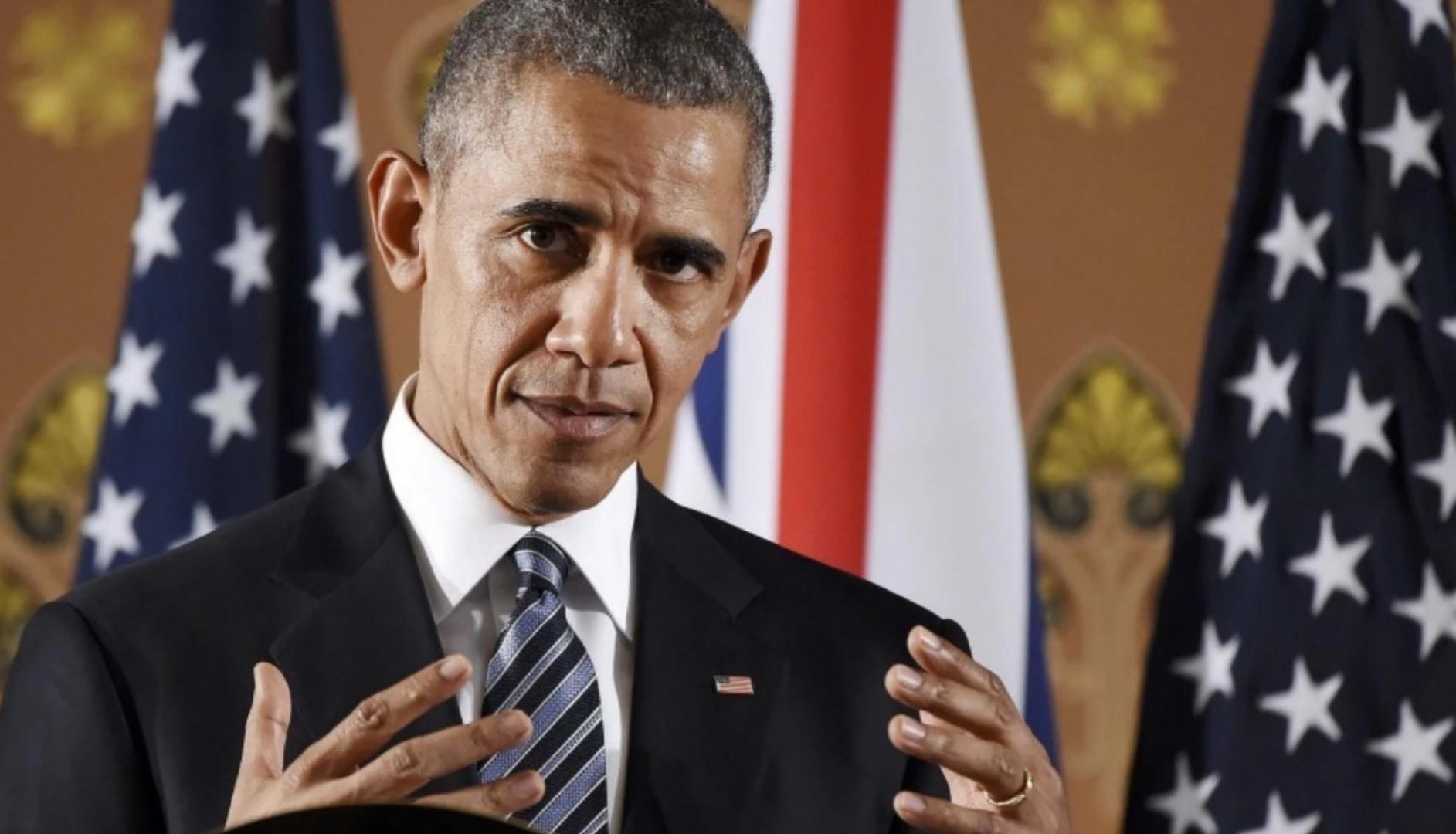 Queue? Obama's use of British English makes Brits suspicious.