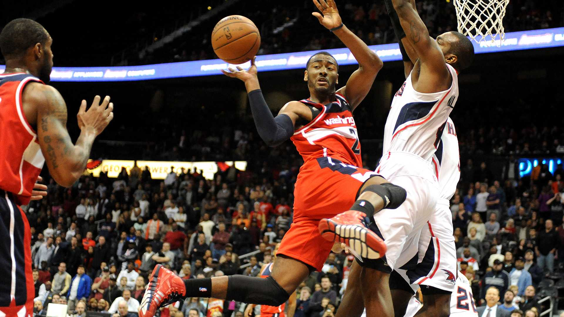 John Wall Dunking Wallpaper Wizards Is Bradley Beal The