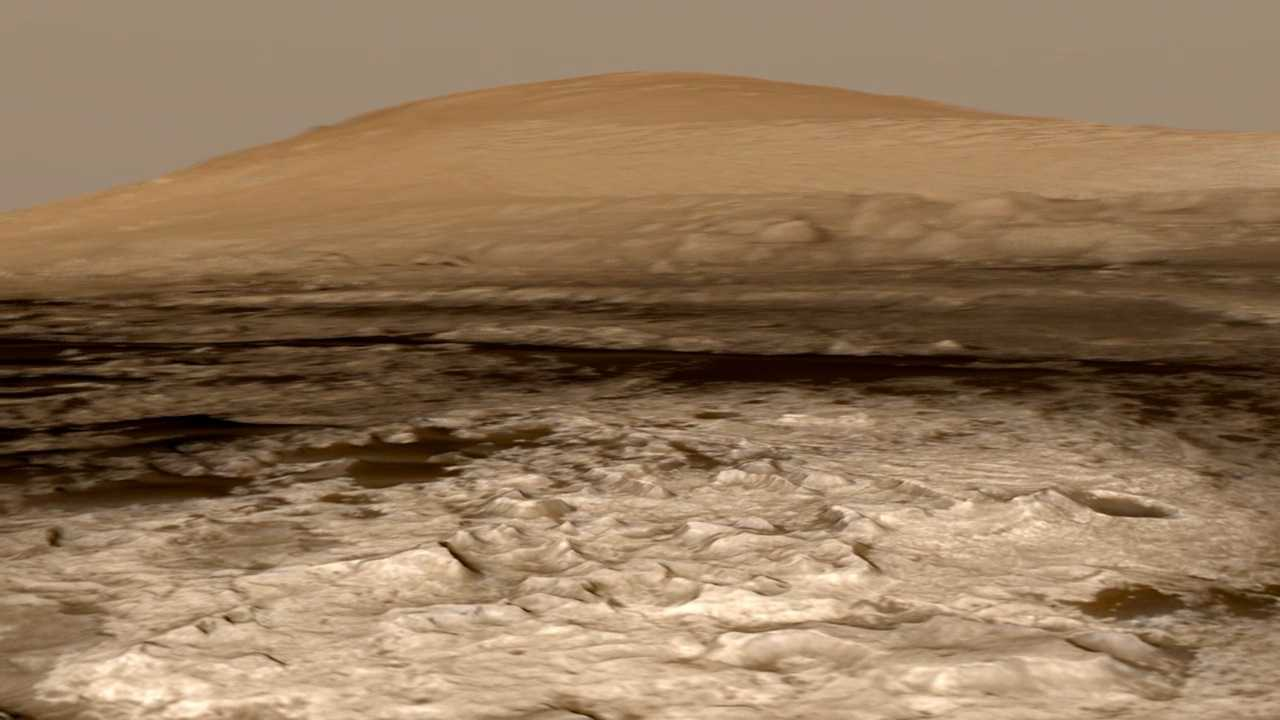 gale crater rover in mars - photo #9