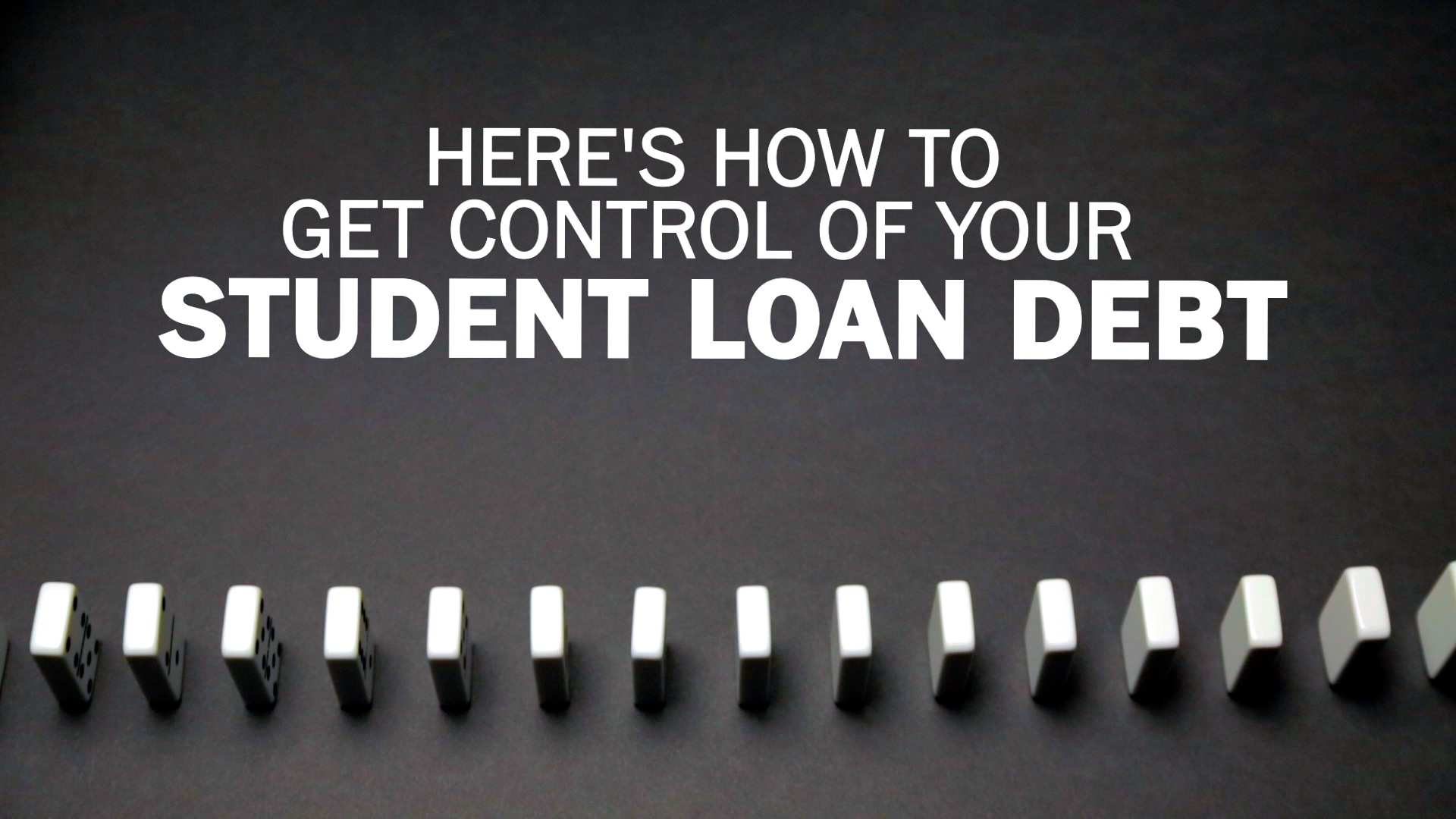 Best option for paying back student loans