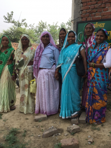 Soap women at Self Help Group meeting