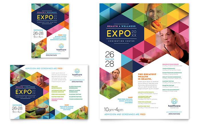 sample flyers for an event