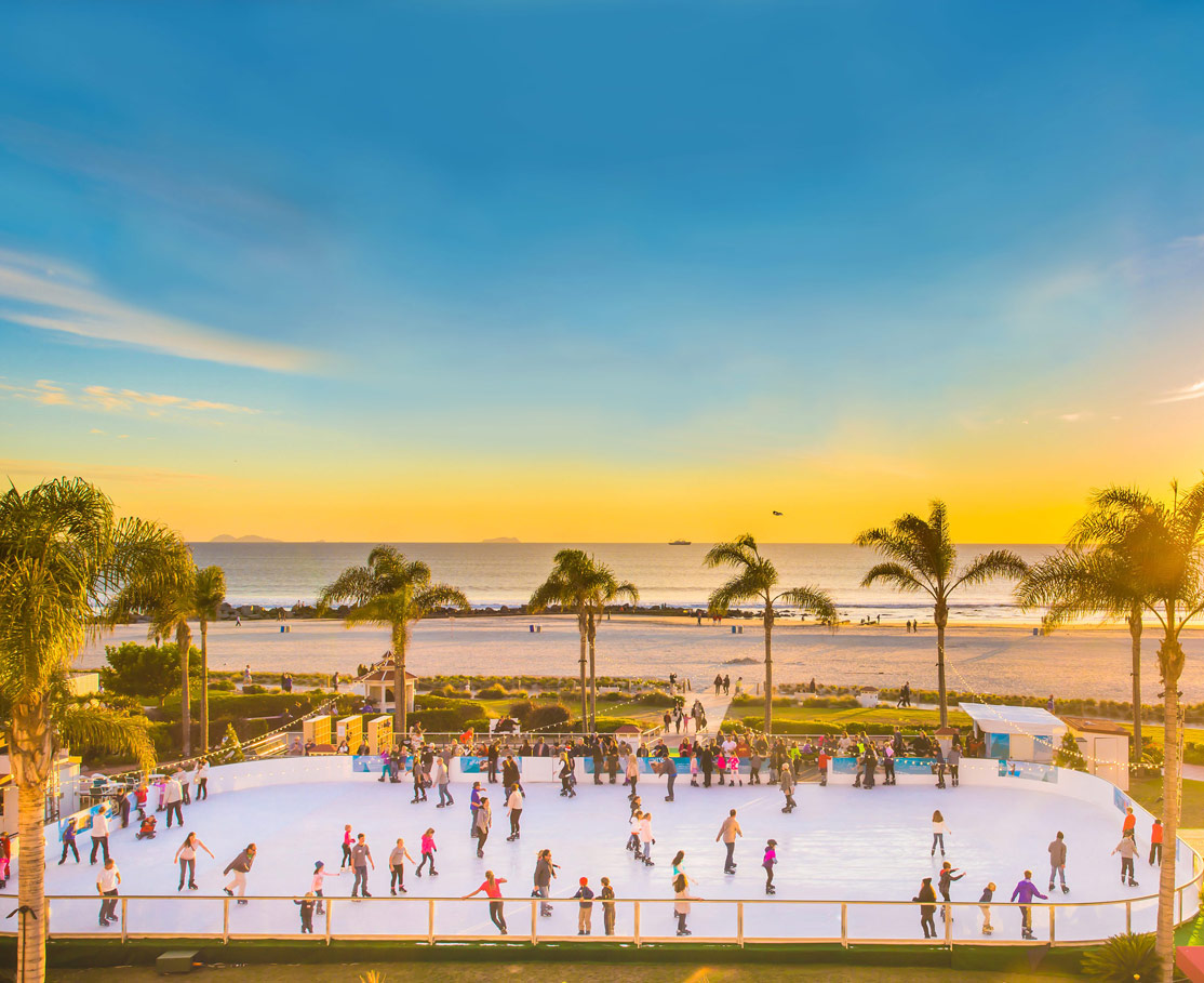 skating by the sea event